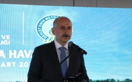 Bakan Karaismailoğlu: '2022'de buraya uçakla ineceğiz'