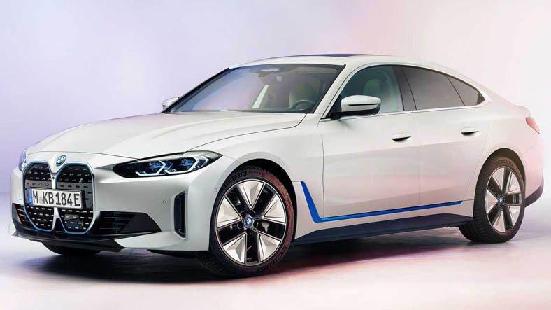 BMW, 2022 Model i4'ün Nihai Tasarımını Gösterdi: Adeta Ateş Ediyor