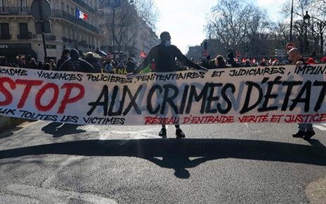 Fransa'nın birçok kentinde ırkçılık ve polis şiddeti protesto edildi