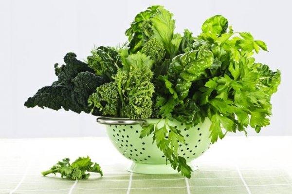 yeşil sebze
